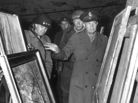 £1billion Nazi art cache found hidden behind food cans