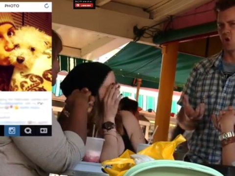 Comedian freaks out public with information he found on social media accounts