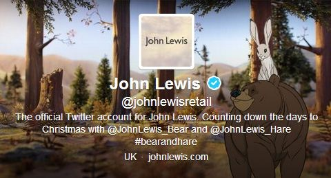 John Lewis 'grateful' to Twitter user John Lewis and buys him a gift to say sorry for hassle