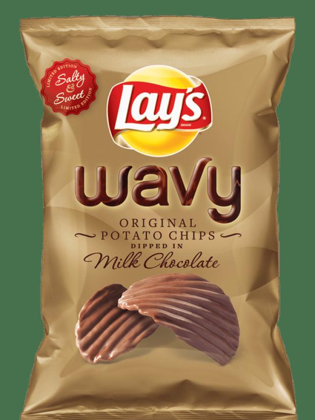 Lay's chocolate crisps