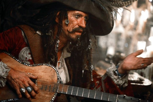 Pirates Of The Caribbean Keith Richards