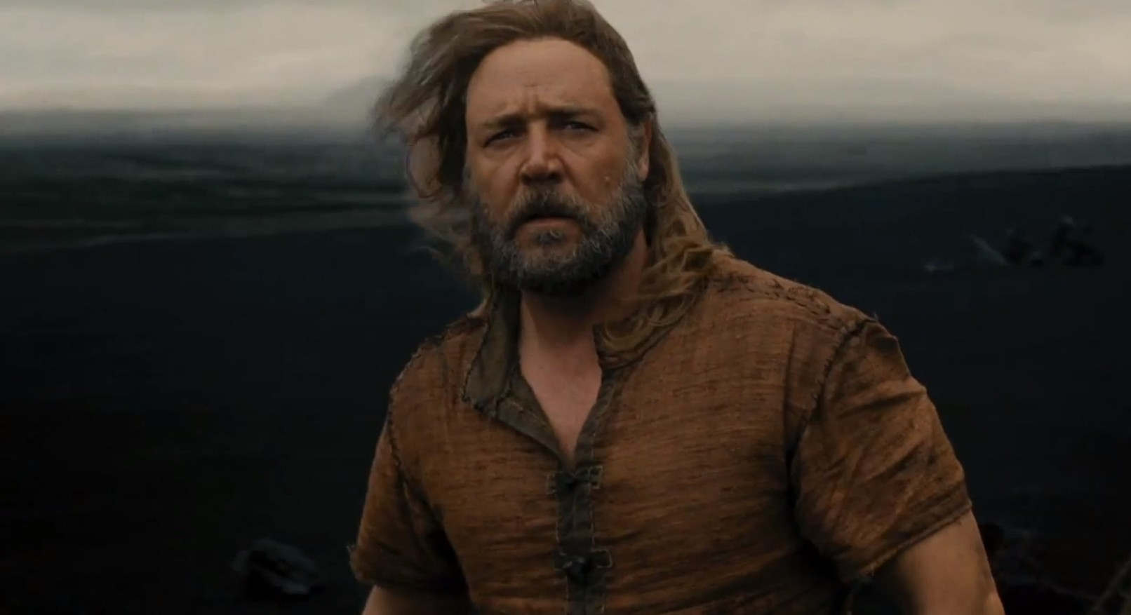 Russell Crowe stars as Noah in Darren Aronofsky's new film (Picture: YouTube)