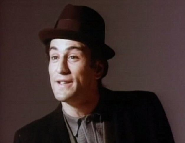 Robert De Niro tries out for the role of Sonny Corleone (Picture: YouTube)