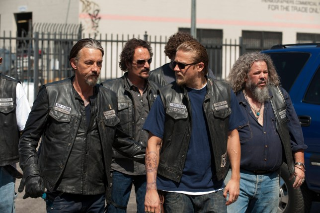 Sons of Anarchy is back for a new series in 2014 in the UK (Picture: FX)