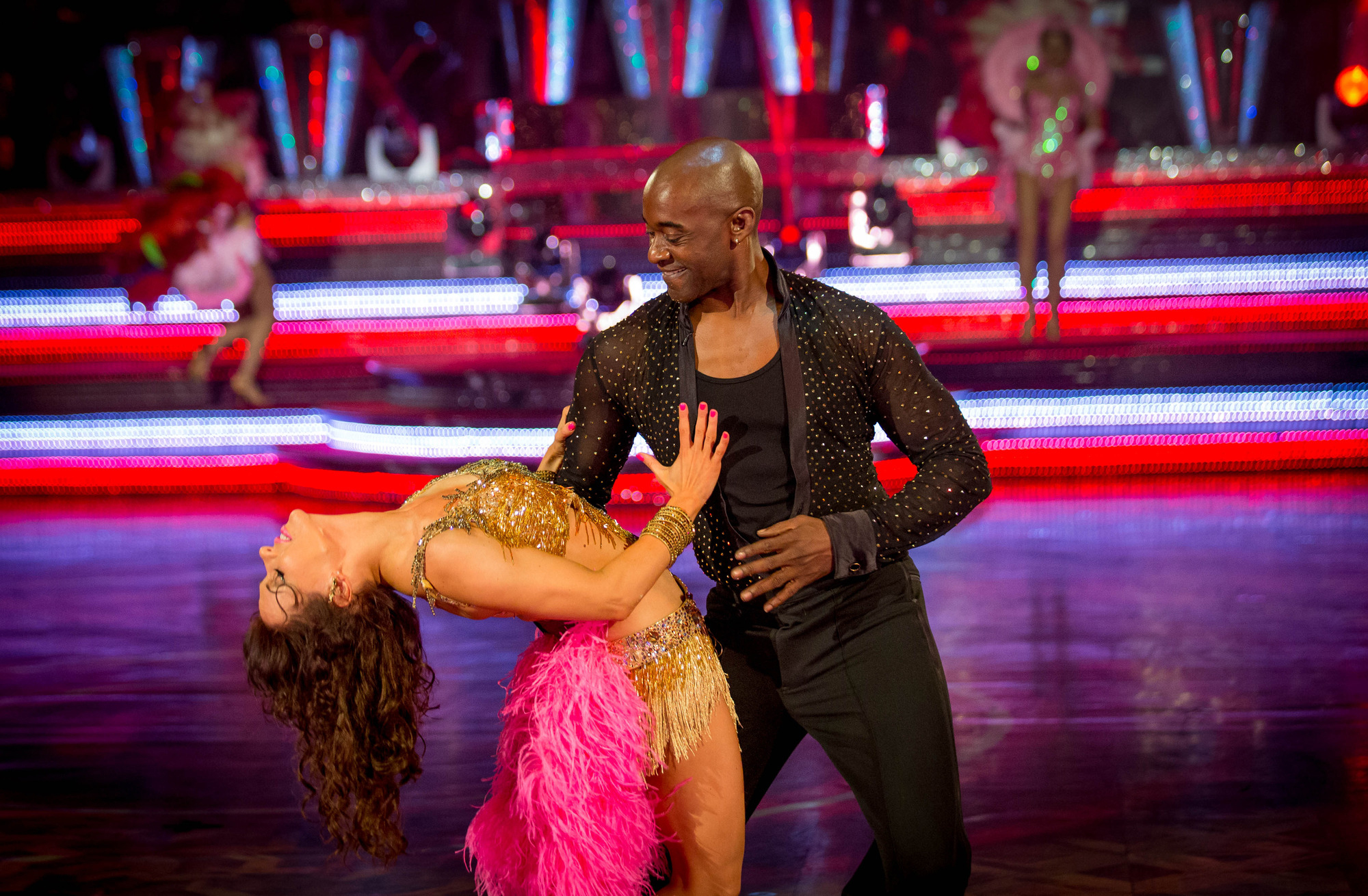 Patrick Robinson overcomes wardrobe malfunction to deliver 'best ever' Strictly samba