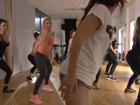 TOWIE's Lucy Mecklenburgh and Billie Faiers give twerking a go