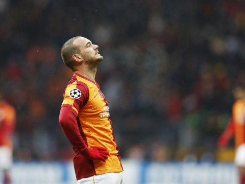 Manchester United set to miss out on signing Wesley Sneijder from Galatasaray