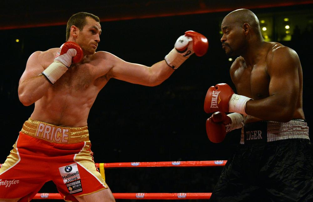 David Price forced to pull out of comeback bout after being floored by virus