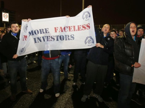 An Ibrox boycott is the only option left to Rangers fans now