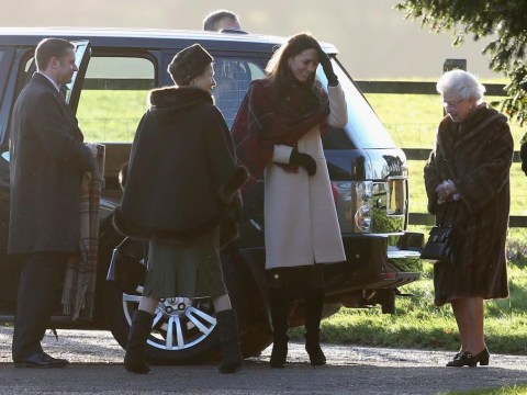 Queen criticised for wearing fur coat at Sandringham on Christmas Day