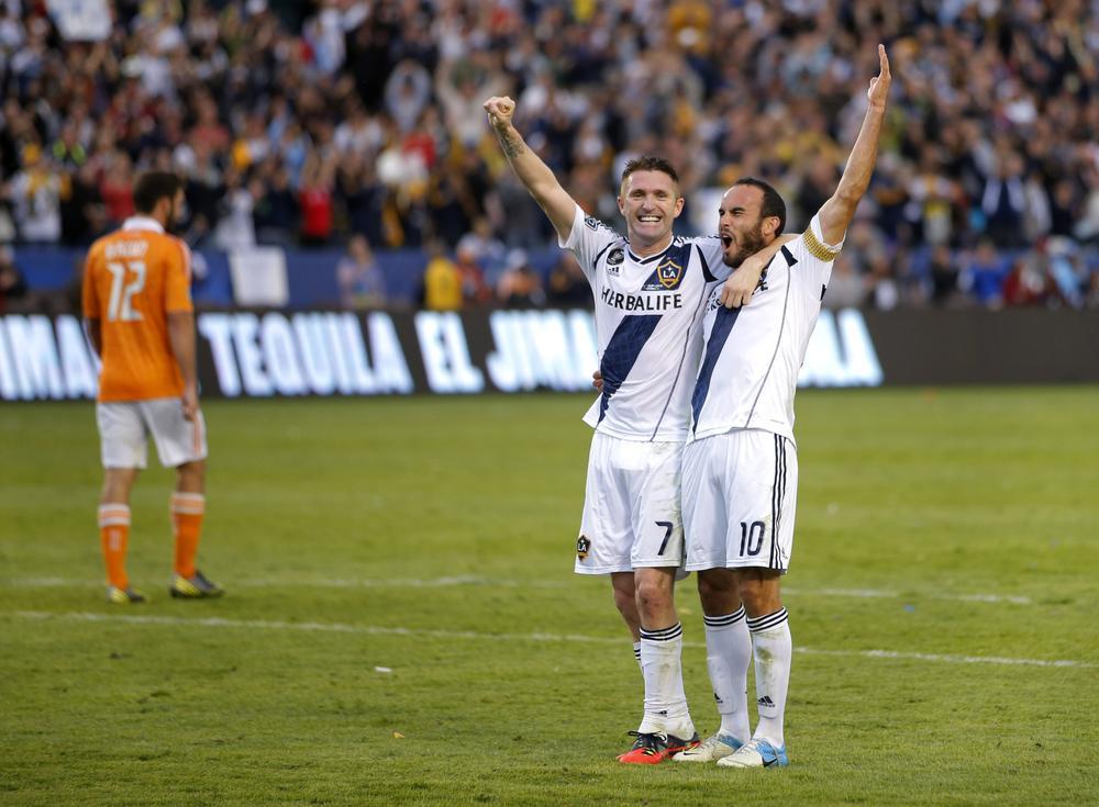 Everton dealt blow as LA Galaxy rule out Robbie Keane or Landon Donovan loan