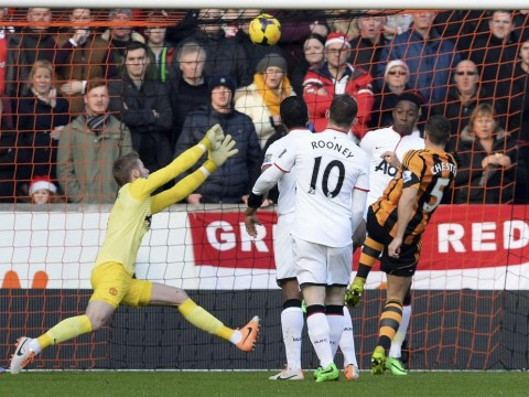 James Chester gives Hull lead over Manchester United thanks to 'ghost corner'