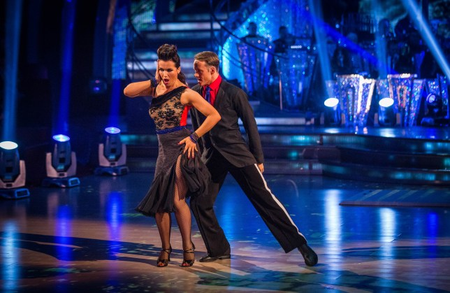 Susanna and Kevin's Argentine tango was not one of their best (Picture: BBC)