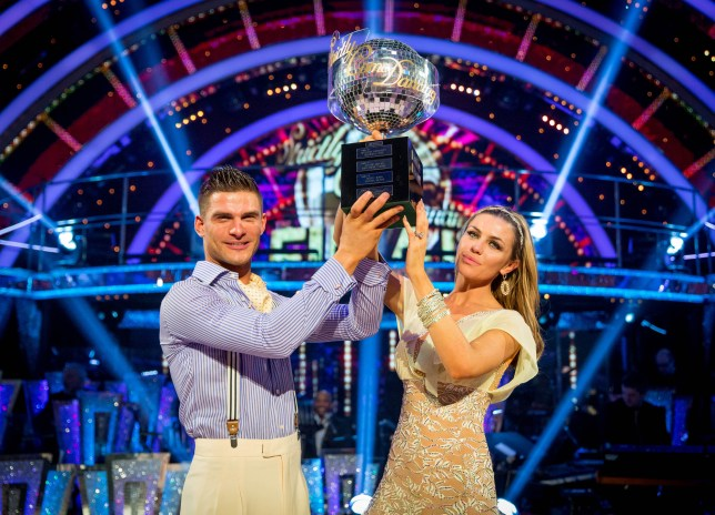 Strictly Come Dancing 2013 final: Abbey Clancy won the Strictly 2013 final
