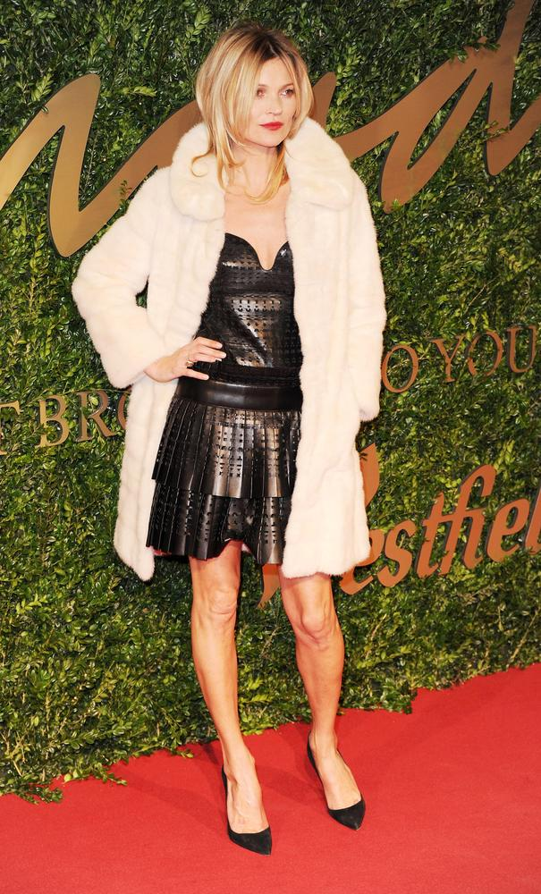 Kate dazzles on the red carpet at the British Fashion Awards 2013 (Picture: Stuart C. Wilson/Getty Images)