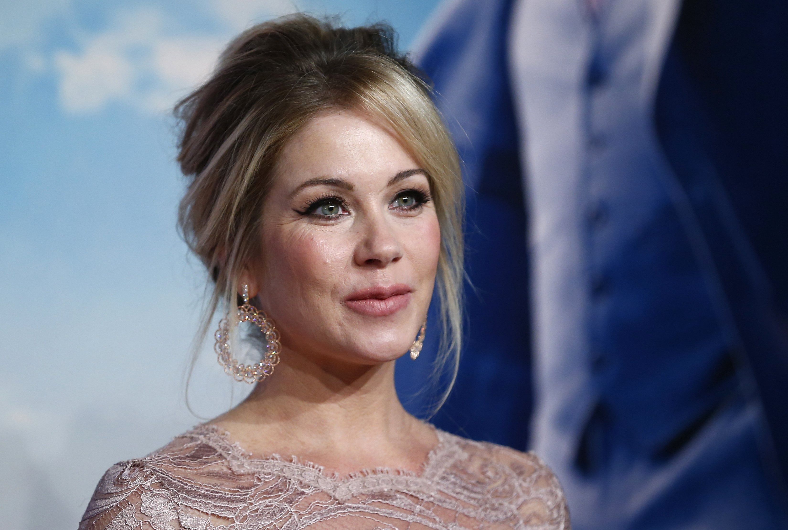 Christina Applegate has had some strange requests from Anchorman director Adam McKay (Picture: Reuters)