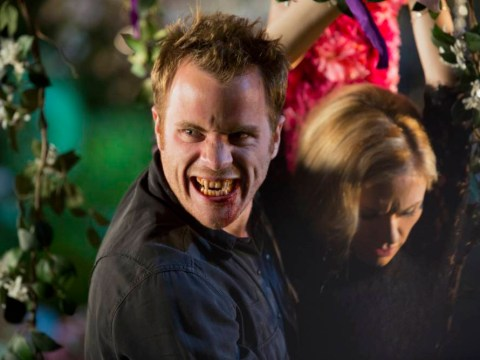 As the blood-dripping curtain came down, True Blood met The Walking Dead