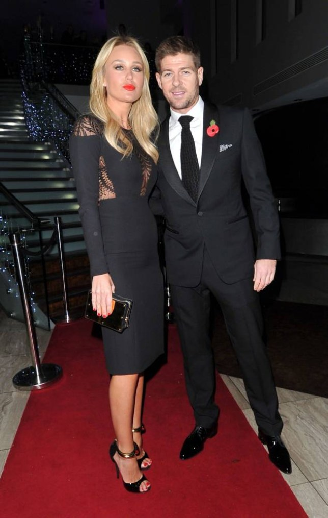 10 November 2013 - LIVERPOOL - UK ALEX GERRARD AND STEVEN GERRARD CELEBS ATTEND A NIGHT OUT AT THE HILTON STAR BALL FOR THE STEVEN GERRARD FOUNDATION IN LIVERPOOL BYLINE MUST READ : XPOSUREPHOTOS.COM ***UK CLIENTS - PICTURES CONTAINING CHILDREN PLEASE PIXELATE FACE PRIOR TO PUBLICATION *** **UK AND USA CLIENTS MUST CALL PRIOR TO TV OR ONLINE USAGE PLEASE TELEPHONE  44 (0) 208 370 0291 or 1 310 600 4723