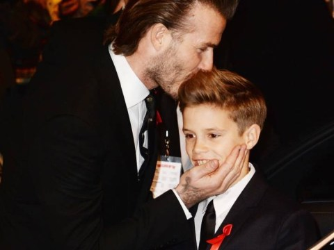 Bad dad! David Beckham left son Romeo in tears after awarding penalty against him