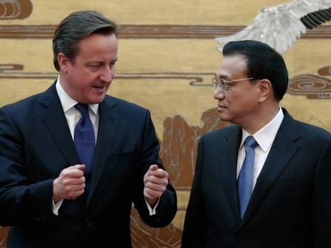 David Cameron signs deal to send £45million worth of pig semen to China