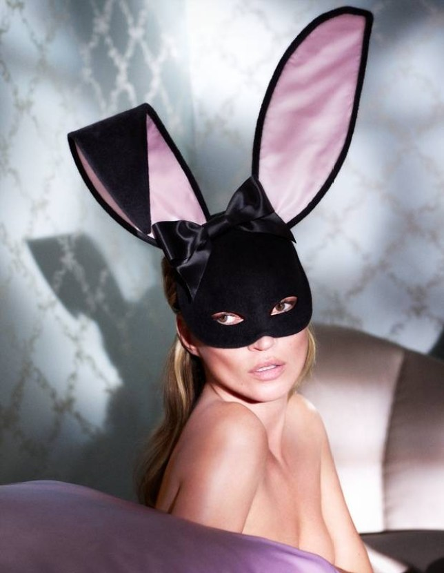 Kate Moss Bunny Ears by Mert Alas and Marcus Piggott for Playboy resized.jpg PLAYBOY MAGAZINE CELEBRATES 60 YEARS OF STUNNING PICTORIALS AND JOURNALISTIC EXCELLENCE Diamond Anniversary Celebration Begins with Release of the Magazine's January/February 2014 Double Issue Featuring Kate Moss, and Collaboration with Marc Jacobs   LOS ANGELES, Monday, December 2, 2013-Playboy magazine officially kicked off its year-long 60th anniversary celebration today with the release of the magazine's highly anticipated January/February 2014 double issue, featuring Kate Moss in an unprecedented 18-page pictorial and cover appearance photographed by Mert Alas and Marcus Piggott.  Playboy's 60th anniversary edition is available digitally on iPlayboy.com beginning today, and on newsstands across the country starting Friday, December 6.  Exclusive outtakes and video from the shoot will also be available on www.playboy.com/katemoss as of Friday, December 6.