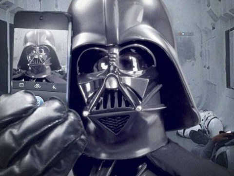 'It is useless to resist': Star Wars announces arrival on Instagram with Darth Vader selfie
