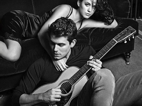 Katy Perry and John Mayer flaunt their affection on cover of duet Who You Love