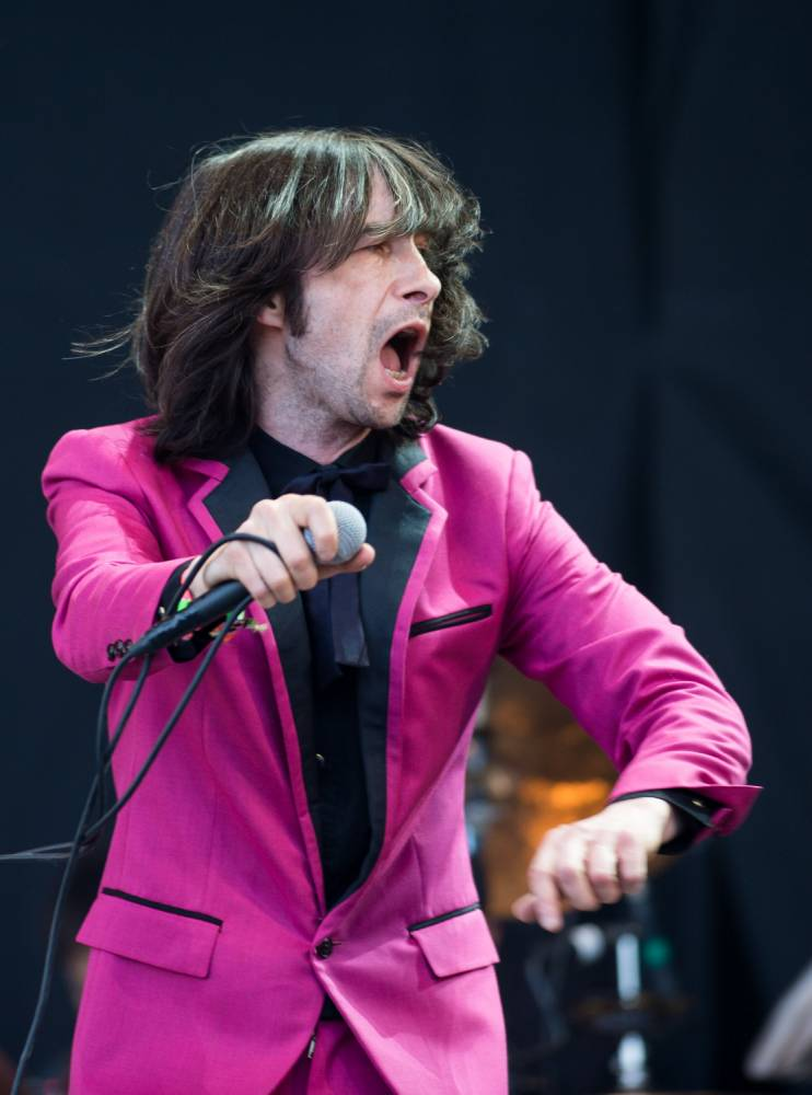 Primal Scream, fronted by Bobby Gillespie, visit Manchester Apollo on Tuesday (Picture: Ian Gavan/Getty)