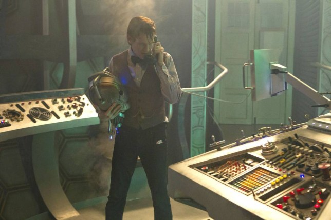 Programme Name: Doctor Who - TX: n/a - Episode: n/a (No. n/a) - Embargoed for publication until: 05/12/2013 - Picture Shows: THIS IMAGE IS UNDER STRICT EMBARGO OF 5th DECEMBER 2013 00.01 The Doctor (MATT SMITH) - (C) BBC - Photographer: Adrian Rogers