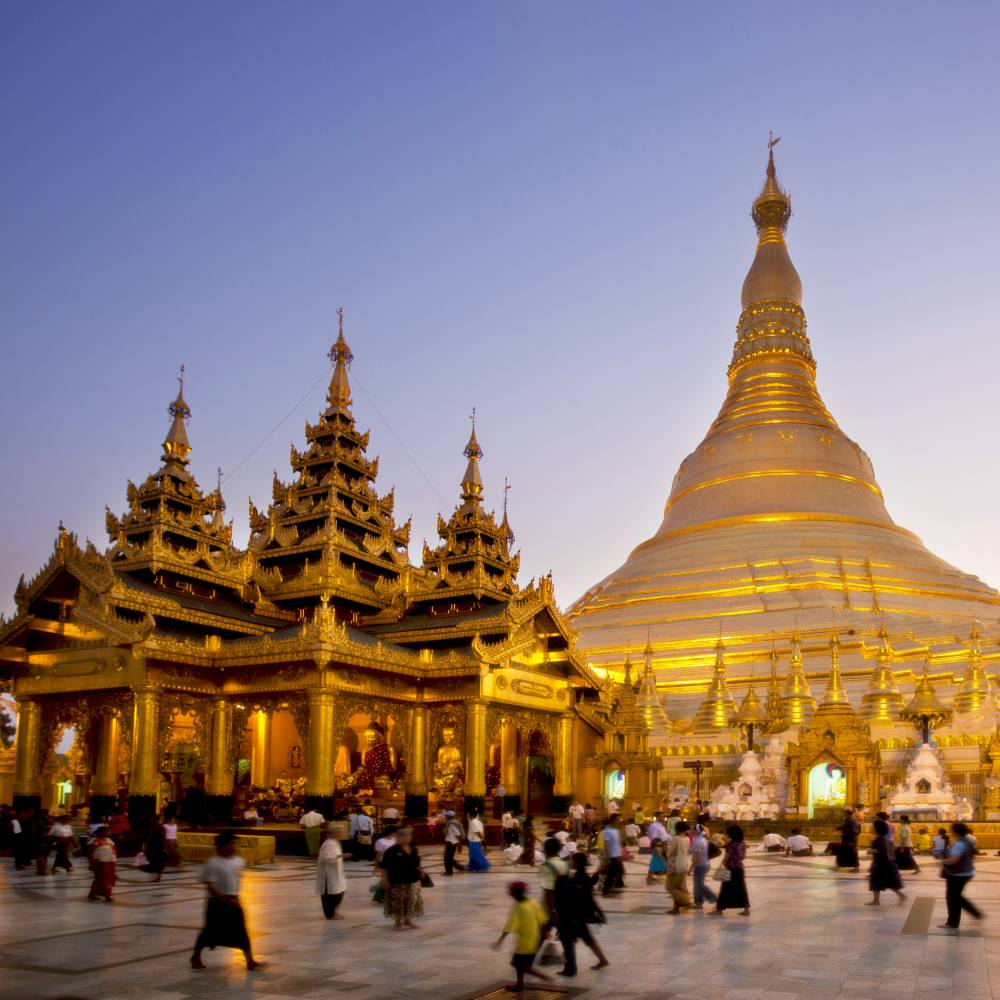 Schwedagon Pagoda in Yangon, Burma (Picture: Getty)