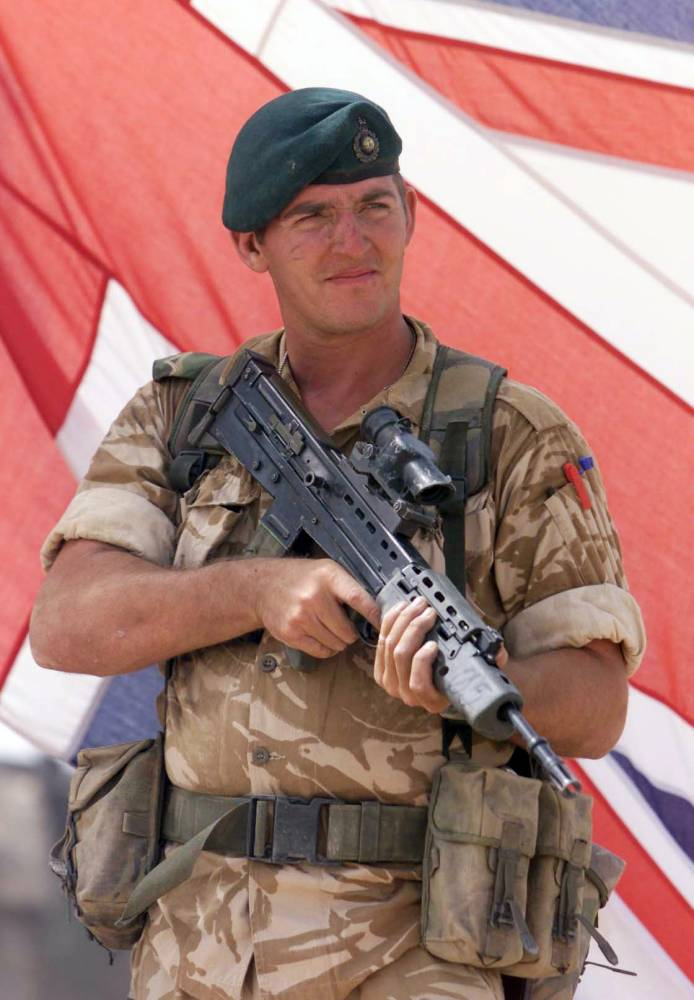 File photo dated 14/10/2001 of Royal Marine Sergeant Alexander Wayne Blackman who will be sentenced today at the Court Martial Centre, Bulford for killing an injured insurgent in Afghanistan. PRESS ASSOCIATION Photo. Issue date: Friday December 6, 2013. The court martial board in Bulford, Wiltshire, found the 39-year-old guilty of murdering the man - who had been seriously injured in an attack by an Apache helicopter - in Helmand more than two years ago. See PA story COURTS Marine. Photo credit should read: Andrew Parsons/PA Wire