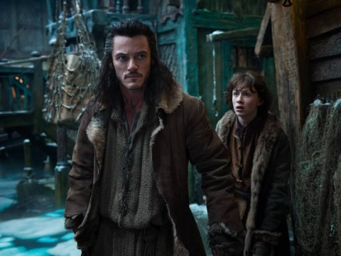 Bard The Bowman Luke Evans makes young Hobbit fan's day