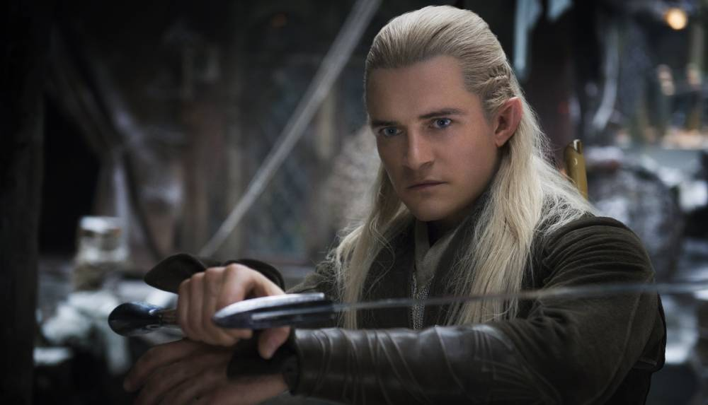 Legolas (Orlando Bloom) in The Hobbit 2