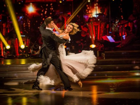 Abbey Clancy isn't dealing with the Strictly Come Dancing semi-final nerves too well