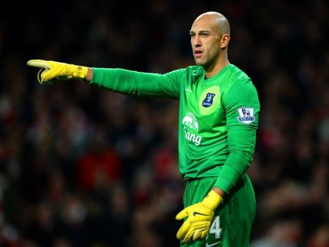 Arsenal v Everton: It's Trim Howard as Everton goalkeeper shaves off mega-beard