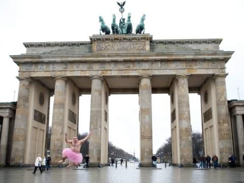 Ballerina Bob: Man dons pink tutu to cheer up his cancer-stricken wife