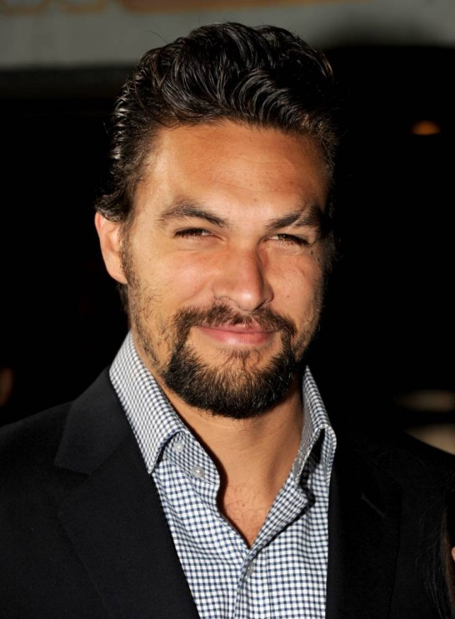 "HOLLYWOOD, CA - MARCH 18:  Actor Jason Momoa arrives at the premiere of HBO's ""Game Of Thrones"" Season 3 at TCL Chinese Theatre on March 18, 2013 in Hollywood, California.  (Photo by Kevin Winter/Getty Images)"