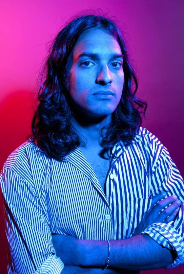 Yeasayer's Anand Wilder - it's all about the weather (Picture: Tom Oldham/Rex)