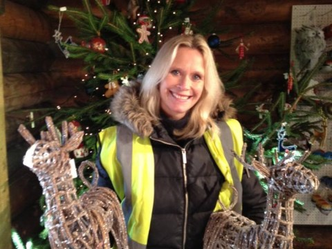Our year flies by, says Alison Battle who runs Lapland UK
