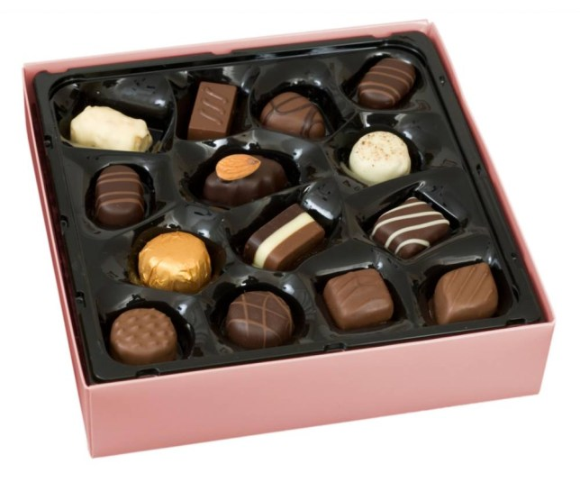You can do a lot worse than chocolates (Picture: Alamy)