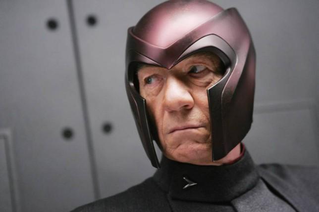 Sir Ian McKellan as super-villain Magneto in X-Men (Picture: supplied)