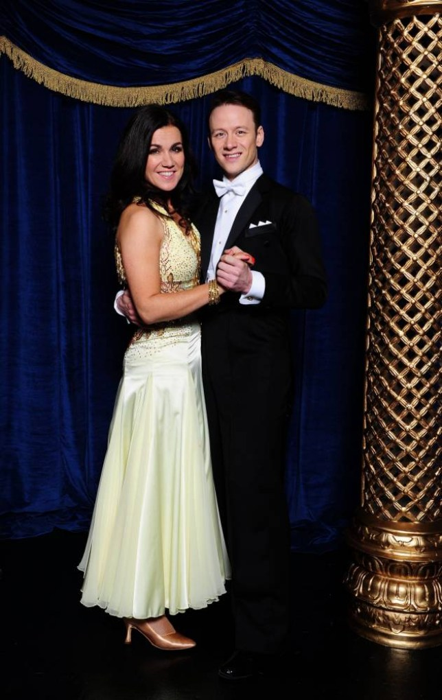 Susanna Reid with her dance partner Kevin Clifton wearing their favourite outfit where they performed a Waltz to ëAnnieís Songí by John Denver, from the current series of Strictly Come Dancing,  at Elstree Studios, London. PRESS ASSOCIATION Photo. Picture date: Friday December 13, 2013. Photo credit should read: Ian West/PA Wire