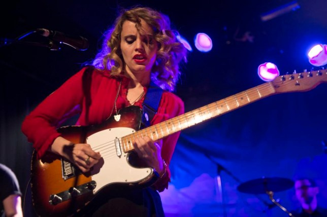 Anna Calvi performs on stage in Barcelona (Picture: Jordi Vidal/Redferns via Getty Images)