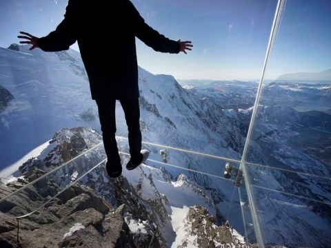 The Chamonix Skywalk: Would you be brave enough to do this?
