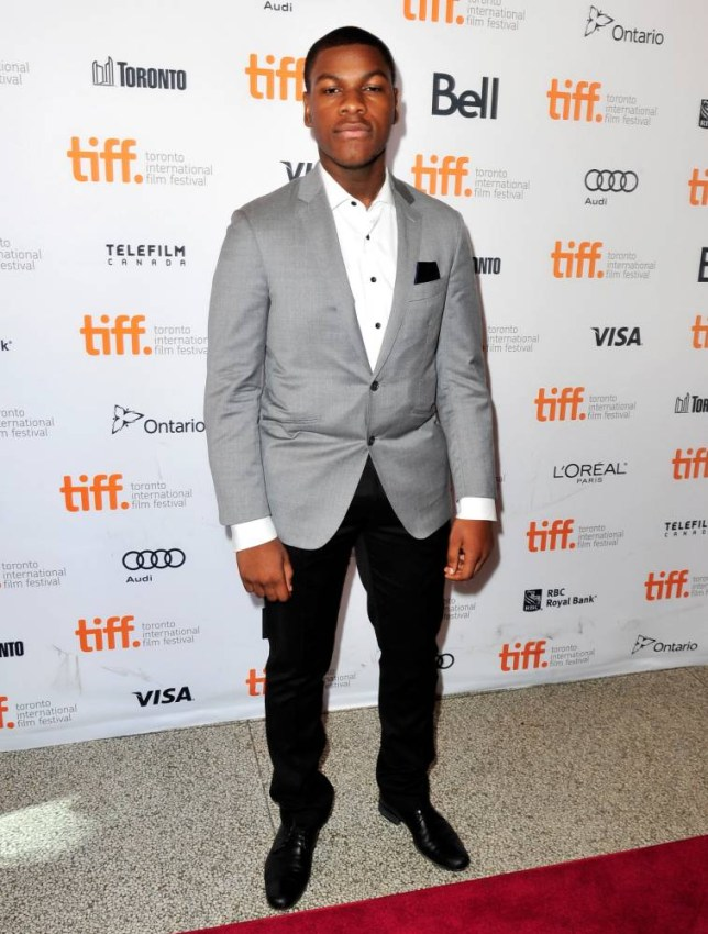 Actor John Boyega  (Picture:Getty Images)