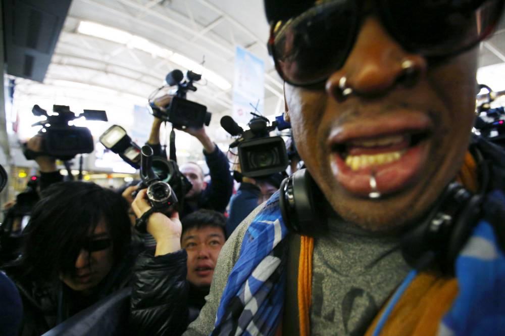 Dennis Rodman on North Korea trip: I'm here to meet my friend