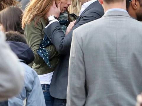 50 Shades of Grey: Jamie Dornan and Dakota Johnson get steamy on set
