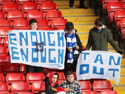 Cardiff fans protest against Vincent Tan amid Malky Mackay row – pictures