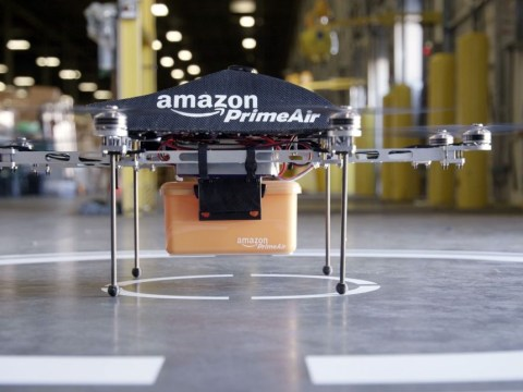 Amazon testing unmanned drones to deliver goods