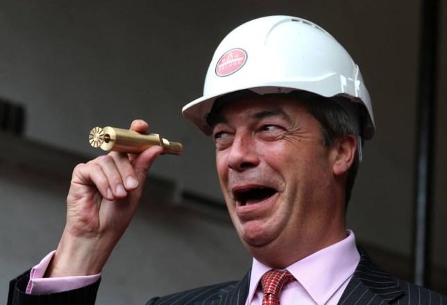 Nigel Farage angry at minister's 'finger up bottom slur'